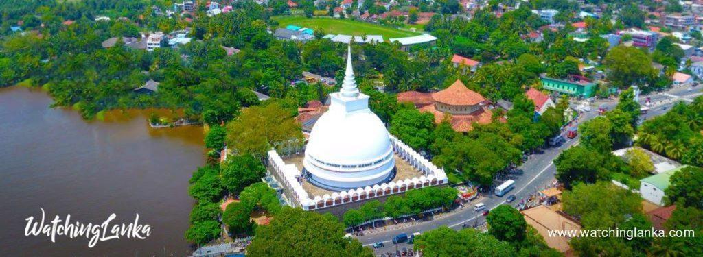 Kalutara Bodhiya in Sri Lanka