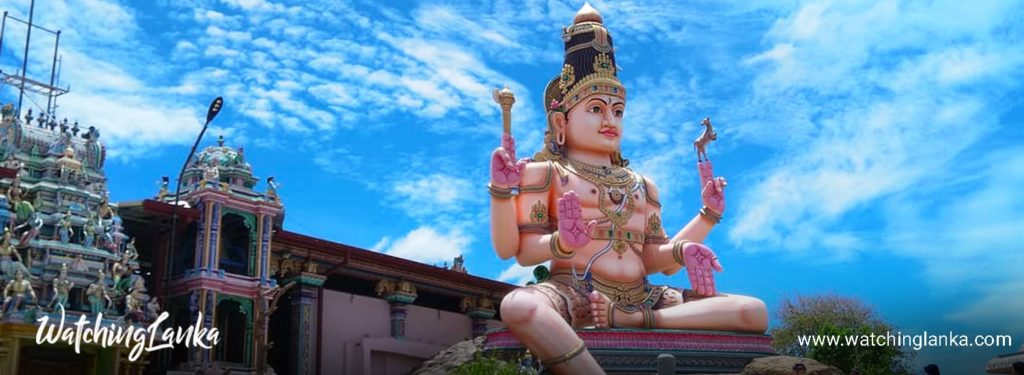 Koneswaram Temple in Trincomalee