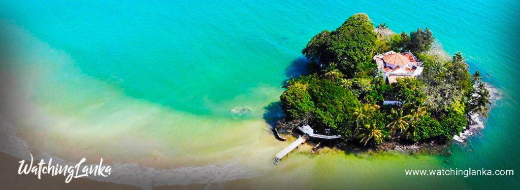 Taprobane Island in Weligama