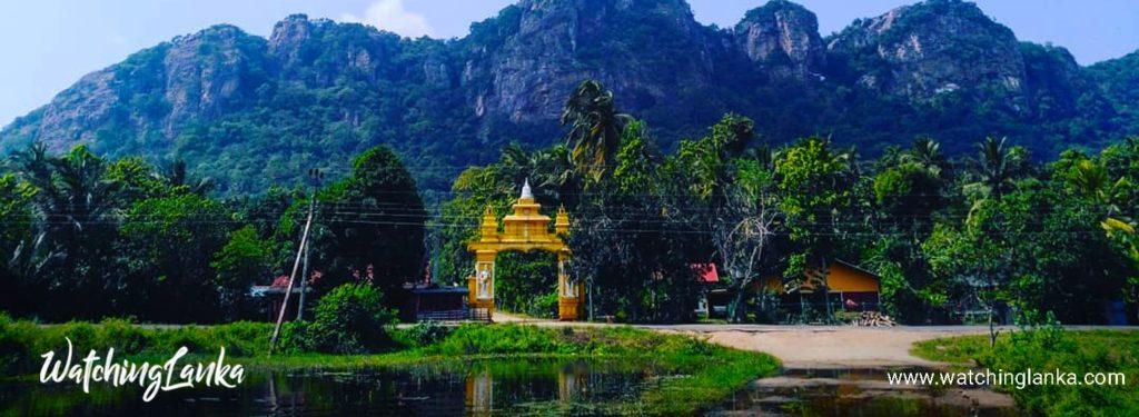 Sri Nagala Rajamaha Viharaya at Nikawewa