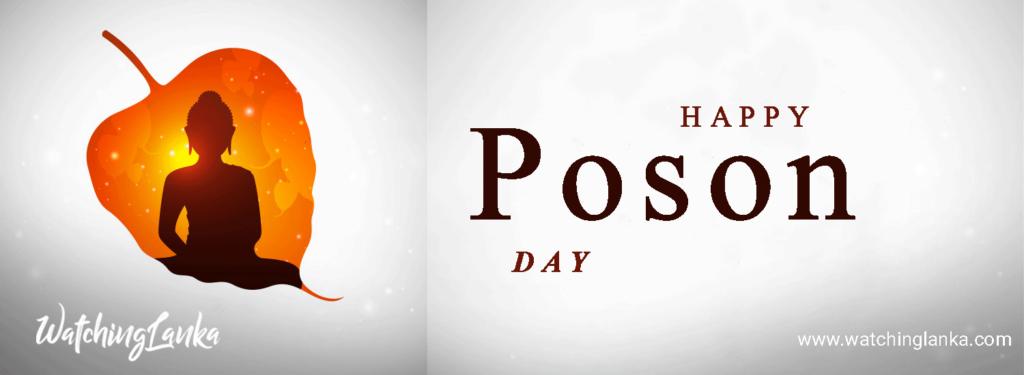 Poson Full Moon Poya Day